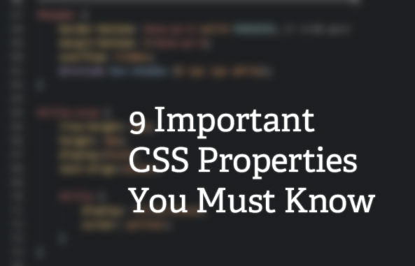 9-important-CSS-properties-you-must-know