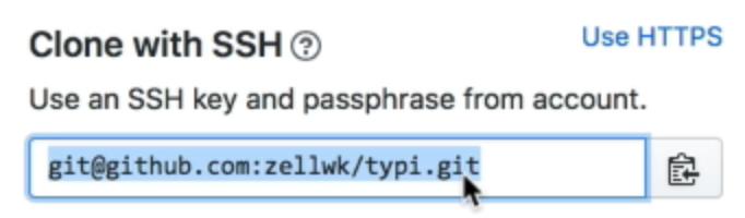 Cloning a Git repository   Zell Liew