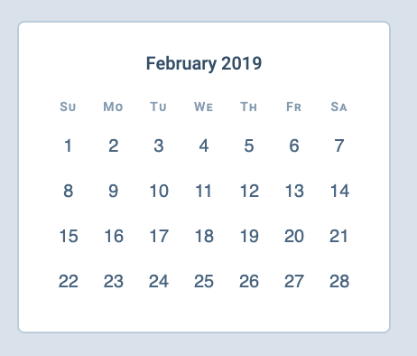 1 Feb 2019 begins on a Friday