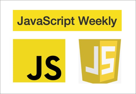 JavaScript logos made with yellow.