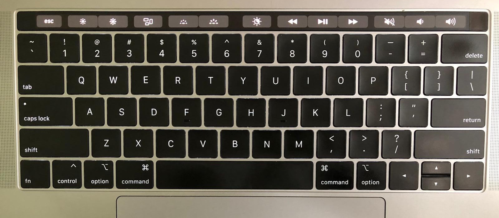Mac keyboard.